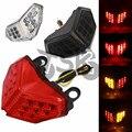 Светодиодный задний фонарь для мотоцикла DUCATI 848 2008-2014 1098 1198 2007-2013 интегрированные Сигналы поворота тормоза