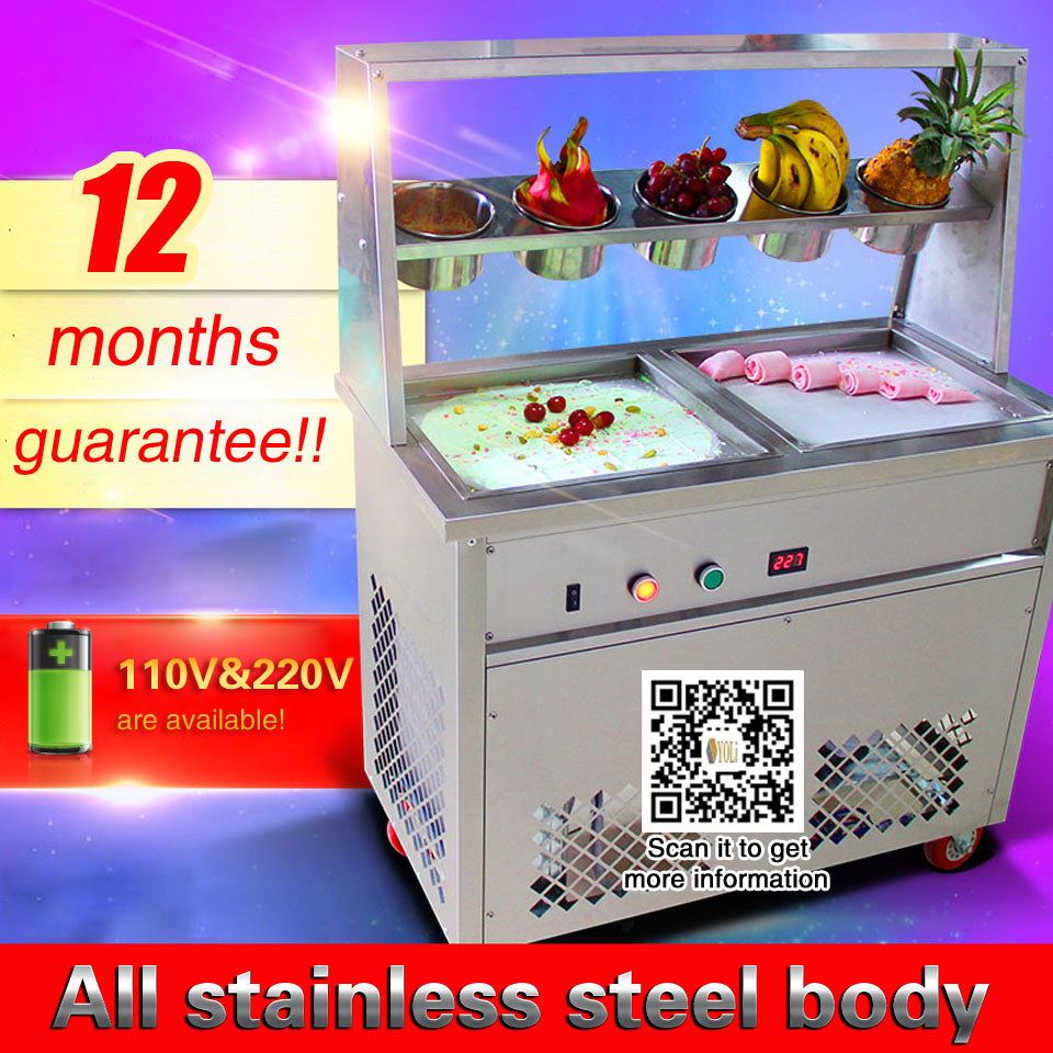 commercial ice cream machines for sale frozen ice cream maker Fried Ice Cream Machine ice cream machinery free shipping