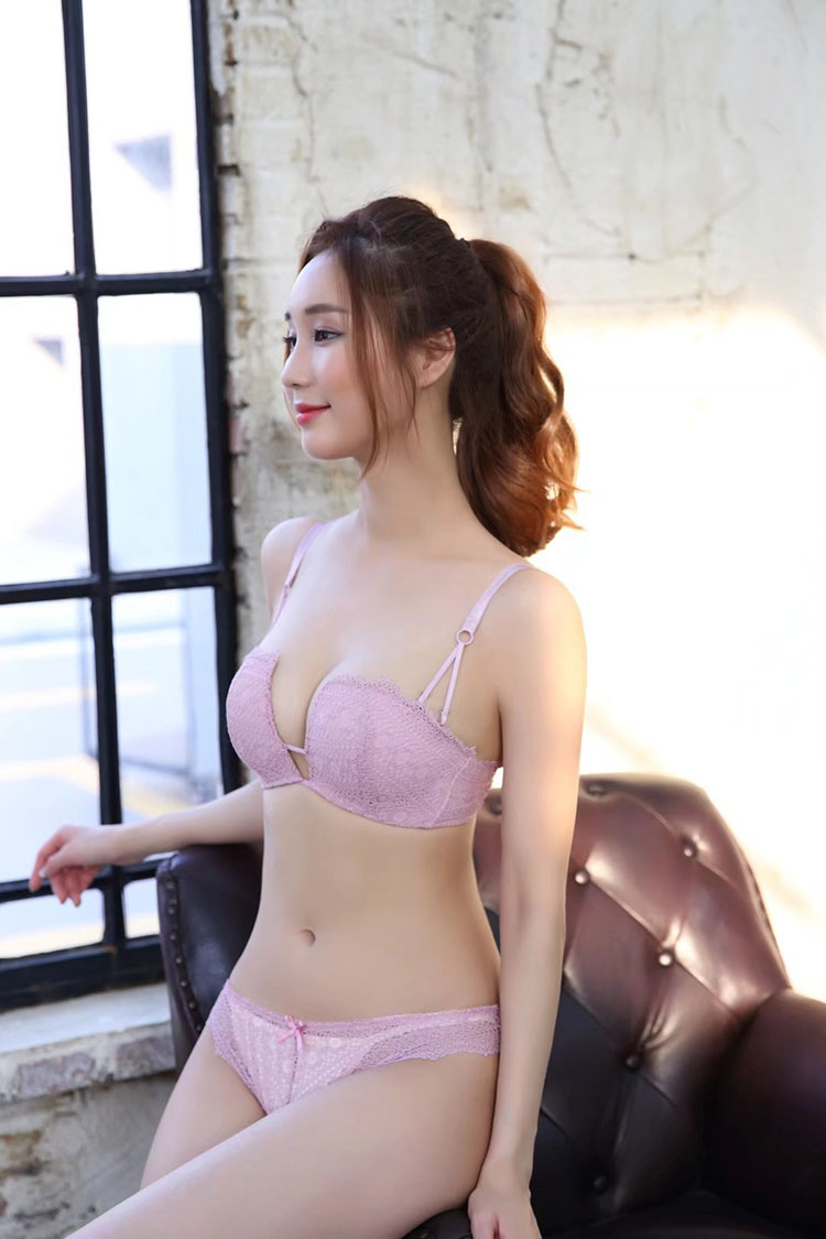 1caaa80e47 2019 Deep V Neck Push Up One Piece Sexy Young Girls Underwear Sets ...