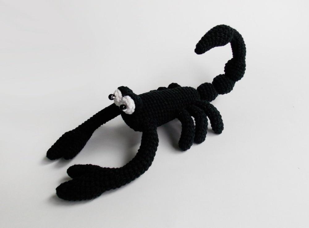 Crochet jouet hochet scorpion numéro de modèle wx001