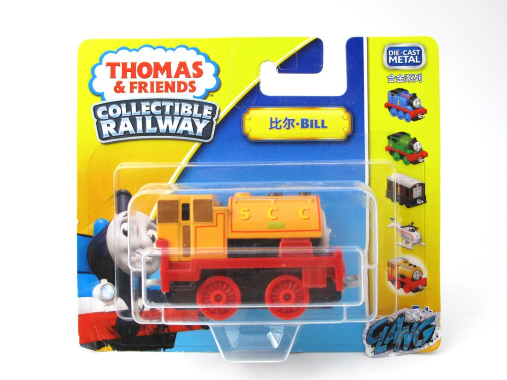 1:64 Diecasts Vehicles Thomas T014N BILL Thomas And Friends Magnetic Tomas Truck Engine Railway Train Toys for Boys NIB