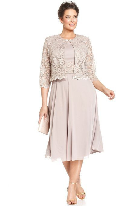 2016 New Arrival Two Piece Mother Of The Bride Dresses Plus Size ...