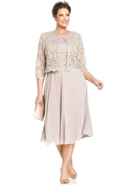 Robe mere dela mariee taille plus
