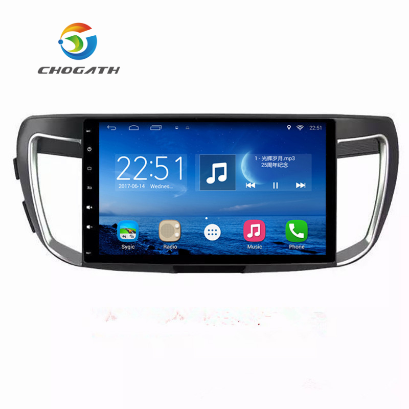 ChoGath 10.2 Quad Core 1.6GHz RAM 1G Android 9.0  Car Navigation GPS Video Player for Honda Accord 9 2013-2015  with CanbusChoGath 10.2 Quad Core 1.6GHz RAM 1G Android 9.0  Car Navigation GPS Video Player for Honda Accord 9 2013-2015  with Canbus