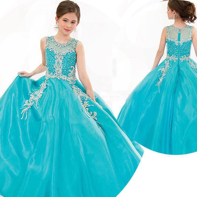 Pageant Dresses For Girls In Usa