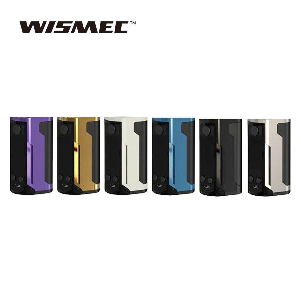 Original Wismec Reuleaux RX GEN3 double Cigarette électronique 230 W RX GEN 3 double boîte MOD Vape Support GNOME King réservoir vaporisateur