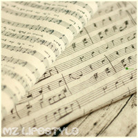 Piano Music Printed Cotton Linen Cloth Cotton Cloth Curtain Zakka Fresh And Simple