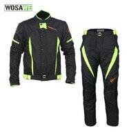 Езда племя мужской moto rcycle Костюмы комплект Водонепроницаемый для верховой езды moto крест куртка брюки костюм комбинации коленей moto одежда