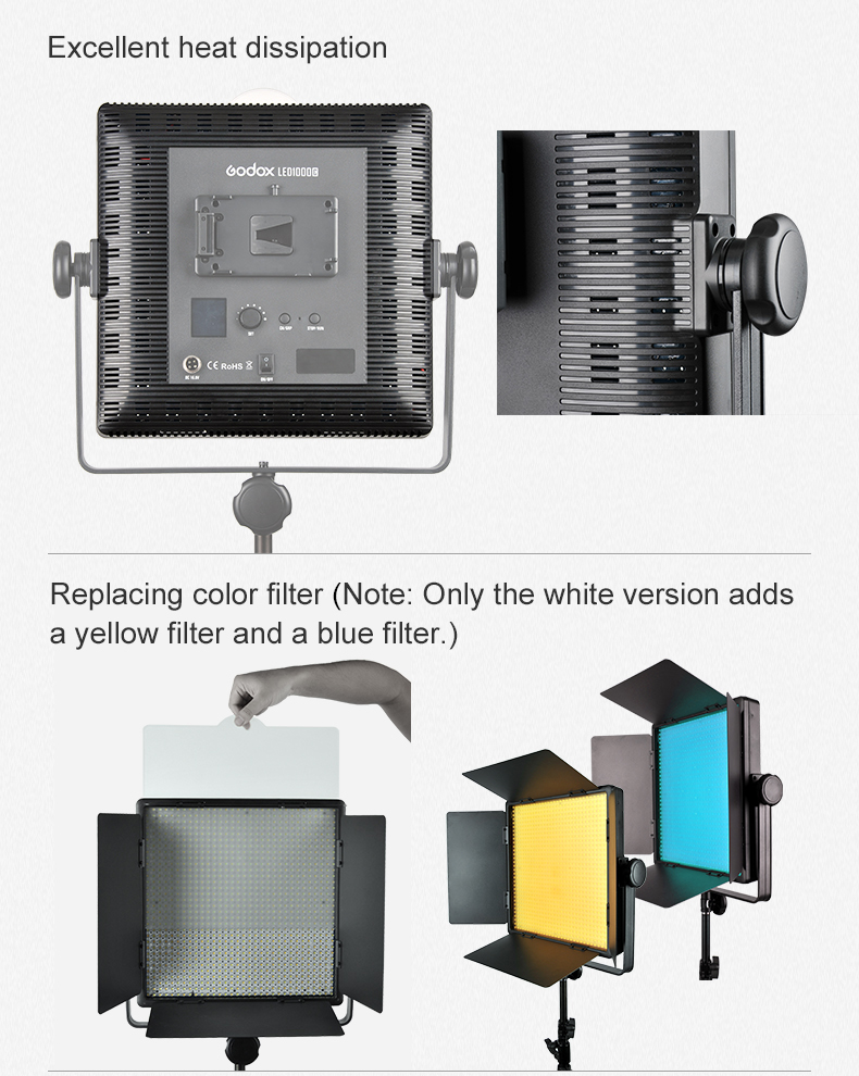 Godox LED500 LED Video Light (5)