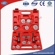 18pcs Butterfly Dish Brake Wheel Cylinder Regulator Car Brake Pads Tools Brake Pump Tools