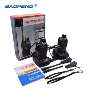 Image 5 - 2PCS Baofeng BF 888S 워키 토키 휴대용 라디오 16CH UHF 400 470MHz 양방향 라디오 송신기