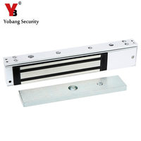 YobangSecurity Alluminum Single Door 12V Electric Magnetic Electromagnetic Lock Holding Force for Access Control for Door