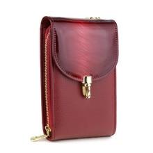 Mini damskie torebki na ramię kobiece etui na telefon kobiety torba damska mała torebka Crossbody marka designerski portfel torebka torebka