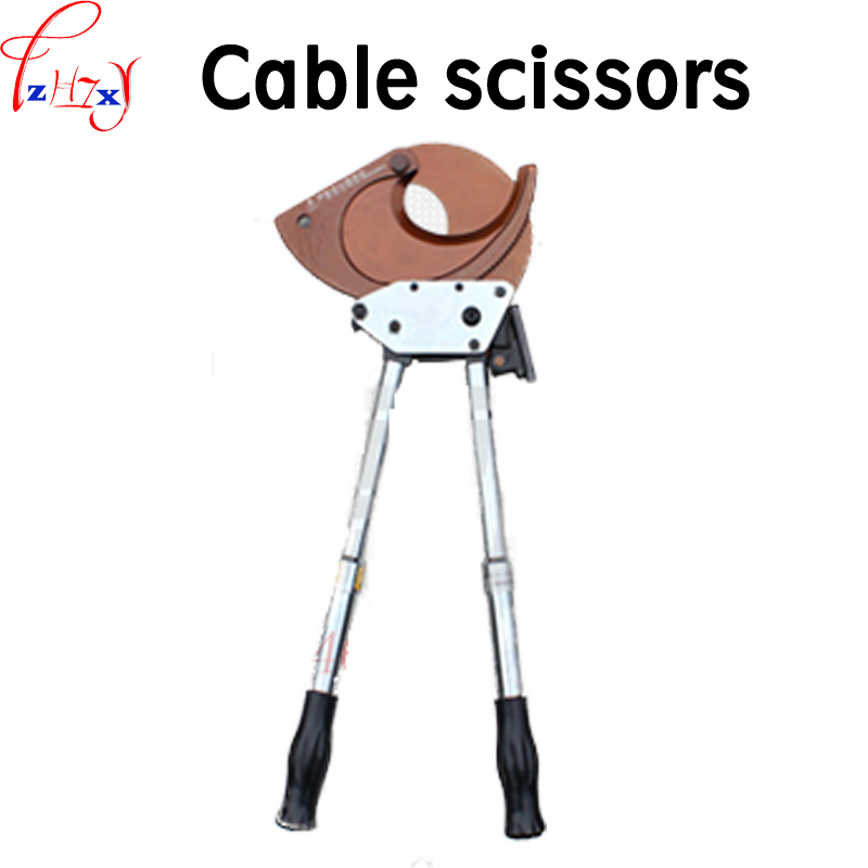 1pc J95 Ratchet type cable shears manual operation copper aluminium wire cutting pliers tools cable scissors1pc J95 Ratchet type cable shears manual operation copper aluminium wire cutting pliers tools cable scissors