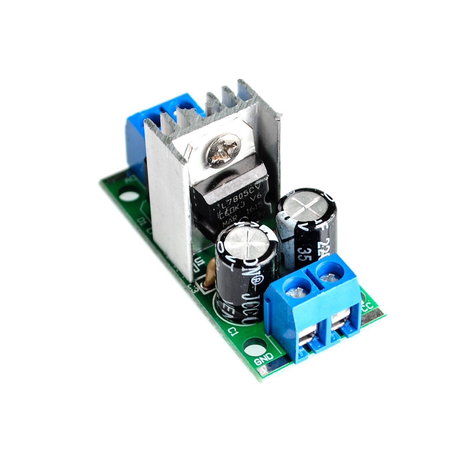 Active Bandpass Filter Circuit Further 7805 Voltage Regulator Circuit