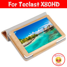 PU Lederen Stand Case Voor Teclast X80PLUS X80HD, teclast x80hd Dual Boot Quad Core 8 inch Tablet PC Covers(China)