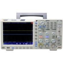 OWON XDS3202E осциллограф 200Mhz1G 2chs8 биты ADC40M длина записи комплект для декодирования 75000 wfms/s 1ns/div8 цветной ЖК-дисплей FFT USB опция