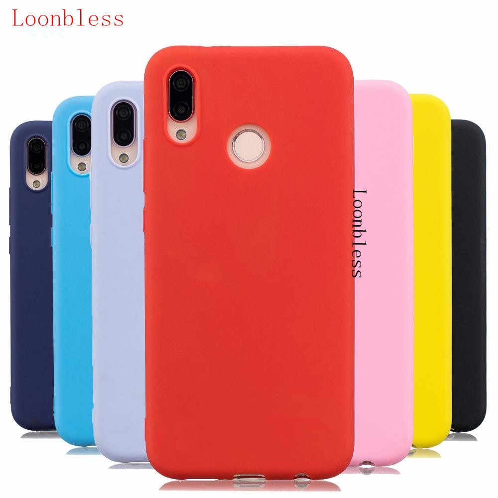 Candy Color Matte TPU Case for Huawei Y6 2019 case Ultra