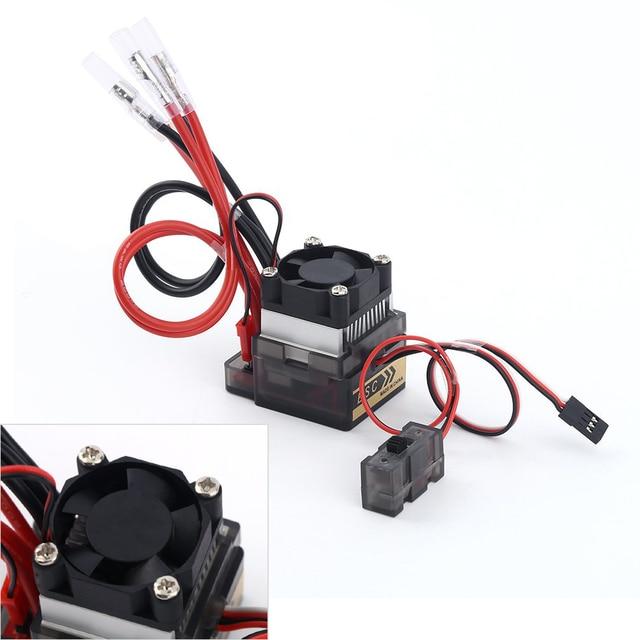 2 unids/lote 7,2 V-16 V 320A de alto voltaje ESC cepillado controlador de velocidad RC coche camión Buggy barco