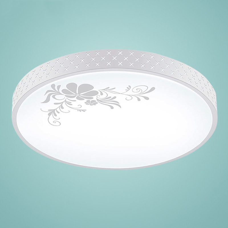 Acrylic Round white Ceiling Lights Modern Remote Control LED Ceiling Lamps for Kitchen living room Bedroom Indoor LightingAcrylic Round white Ceiling Lights Modern Remote Control LED Ceiling Lamps for Kitchen living room Bedroom Indoor Lighting