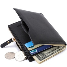 836 Foreign Trade Hot Selling Wish AE Mens New Style Wallet Card Holder Wholesale Short Male