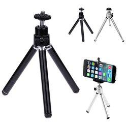 Mini tripé universal leve tripé suporte de montagem para celular iphone 6 7 8 dslr g desktop selfie suporte ferramenta