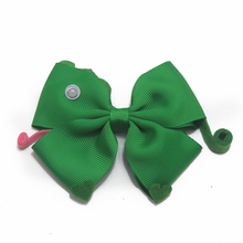 6 pcs 4 inch cartoon toy storys hair bows Hair Clips Coral Colorful Hairpin Large Bows Accessories For Girls