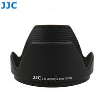 Jjc capuz de lente de câmera, para tamron b003 18 270mm f/3.5 6.3 di ii sorriso asférico ld (se) lente macro substituição ab003