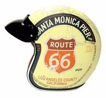 Hi end font b TORC b font T50 Route 66 Motorcycle helmet jet Vintage helmet Open