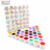 #20204 GDCOCO UV Gel ongles Kit 36 couleurs CANNI sortie ongle Art Gel peinture Gel ongles conception peinture pour travaux manuels Gel