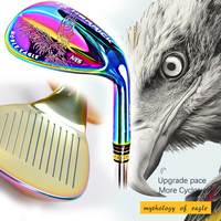 Golf wedge golf clubs golf wedge set right hand steel Multi color wedge 50/52/56/58/60 golf wedge head