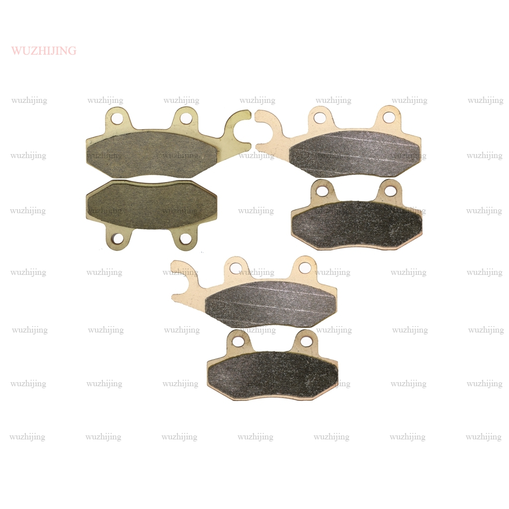 Front Rear brake pads fit  CAN-AM COMMANDER 1000 2011-2017 2016 2015 2014 2013