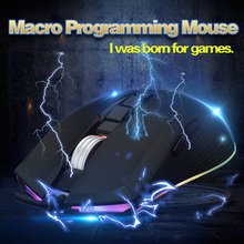 Usb Souris Gaming Mouse For Computer Laptop Maus Gamer Game Muis Wired Mice Filaire Ergonomic Rgb Myszka Raton Ordenador