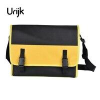 Urijk Big Size Satchel Oxford Tool Bag Combination Electric Network Repairing Waterproof Wearable Strap Thickening Widen