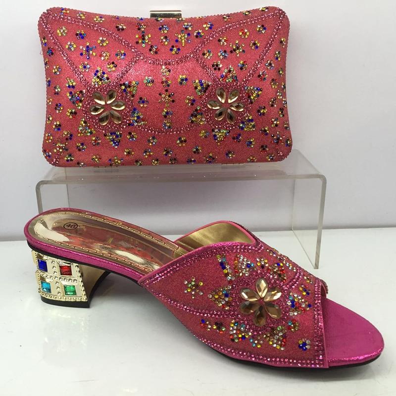 Nigeriano Decorado rosado Las Con Y Sistemas azul Conjunto De Últimas vino Cielo Negro Zapatos Bolsa Del Tinto Bolso Rhinestone Cielo Mujeres verde oro Africanos Boda Azul x7CwnqgWYv