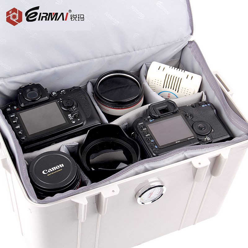 Eirmai R21 SLR Camera Moisture-proof Box Photographic Equipment Accessories Drying Box Lens Mildew Proof Bag For Canon For Nikon