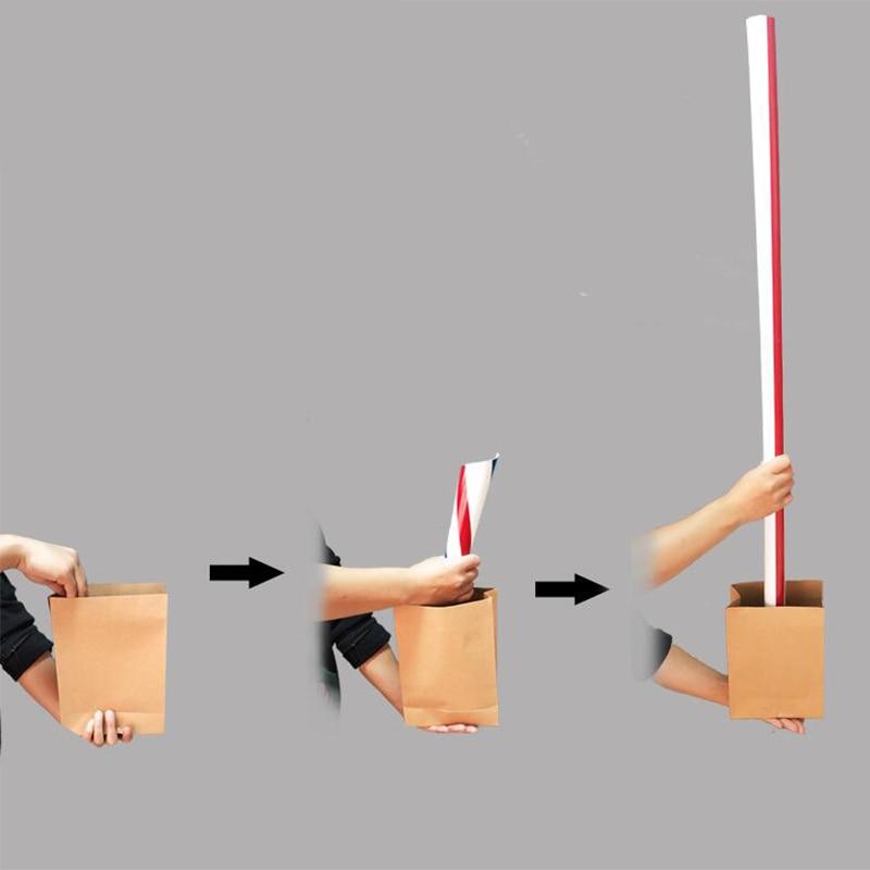Big Straw Stage Free Shipping Magic Tricks Magia Trick Toy Children Fun Easy Magie