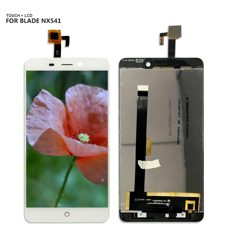 Free Shiping For ZTE Nubia N1 NX541J Touchscreen LCDs Touch Screen Digitizer Glass LCD Display Assembly + Tools