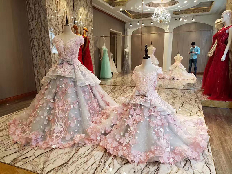 LS83920 φερμουάρ φόρεμα φερμουάρ πίσω - Ειδικές φορέματα περίπτωσης - Φωτογραφία 6
