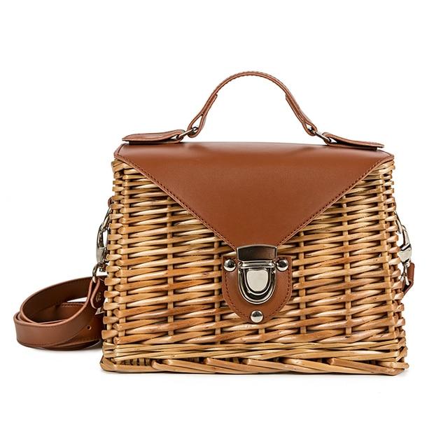 Rattan Woven Bag Braided...