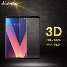 цена на AKABEILA Screen Protectors Film For LG V30 Glass For LG V30 Plus Tempered Glass 3D Curved Full Cover H930 H930DS H933 H931 H932