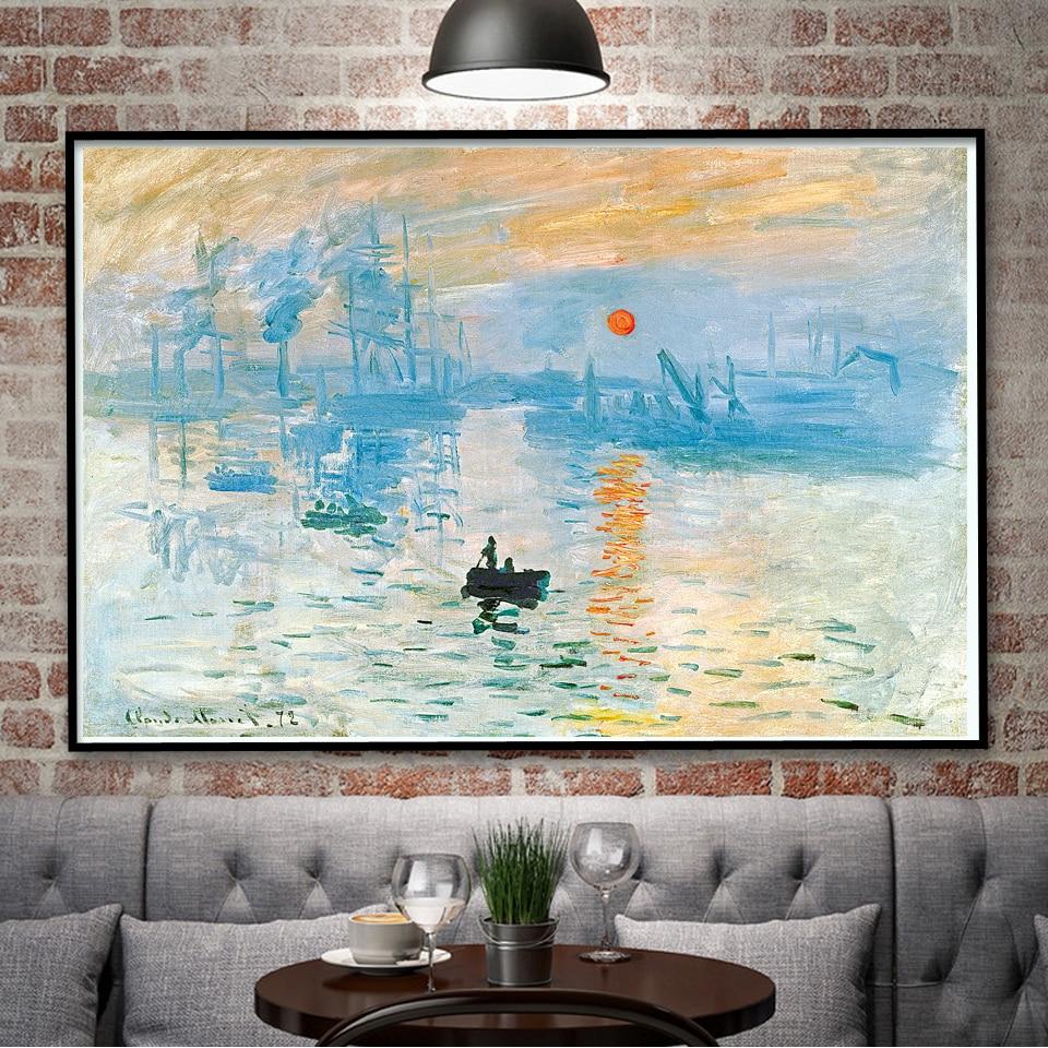Vincent Van Gogh The Rhone River Starry Night Art Silk Poster Home ...