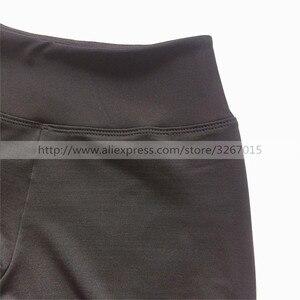Image 5 - Колготки для фигурного катания, женские штаны/брюки для катания на коньках, спортивный костюм, черные эластичные колготки для выступлений с узором в виде пентаграммы