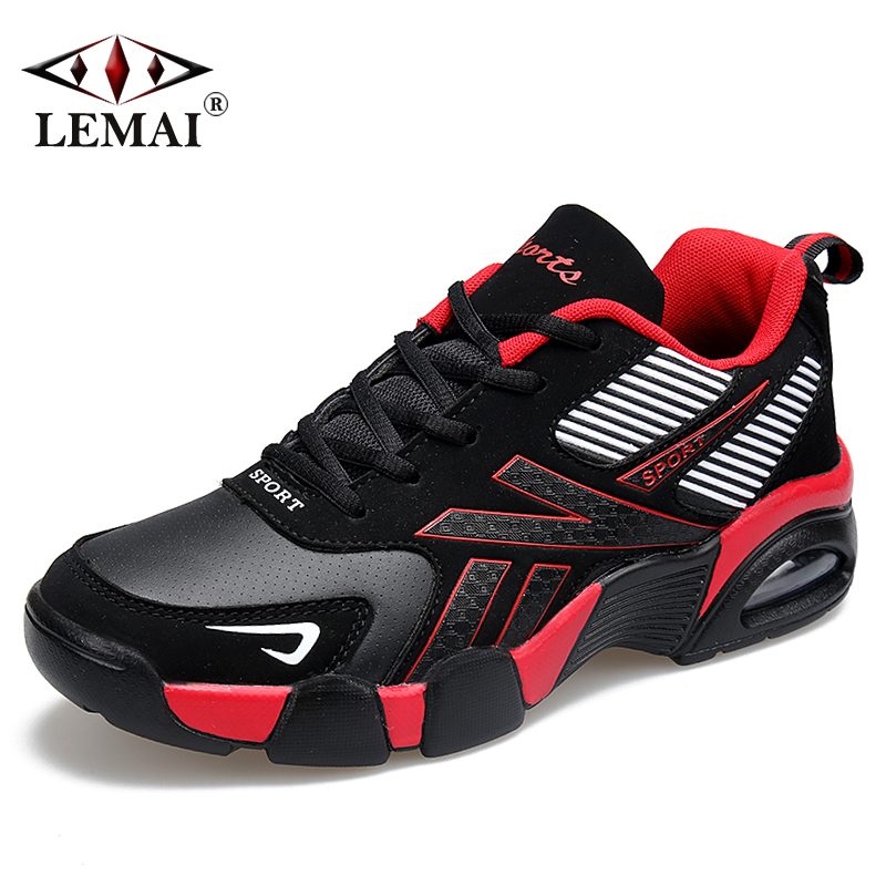 LEMAI New Men Autumn Boots Warm Wool Sneakers Boys Outdoor Sport Autumn Running Shoes Athletic Max Air Walking Jogging X273