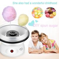 Electric Cotton Candy Maker Machine Sugar Floss Commercial Carnival Party Kitchen Appliances With EU Plug