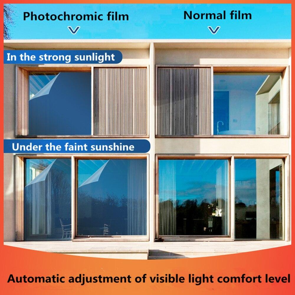 SUNICE Smart optiquement contrôlé fenêtre film intimité verre solaire teinte anti-déflagrant voiture construction isolation thermique 1.52*10 m