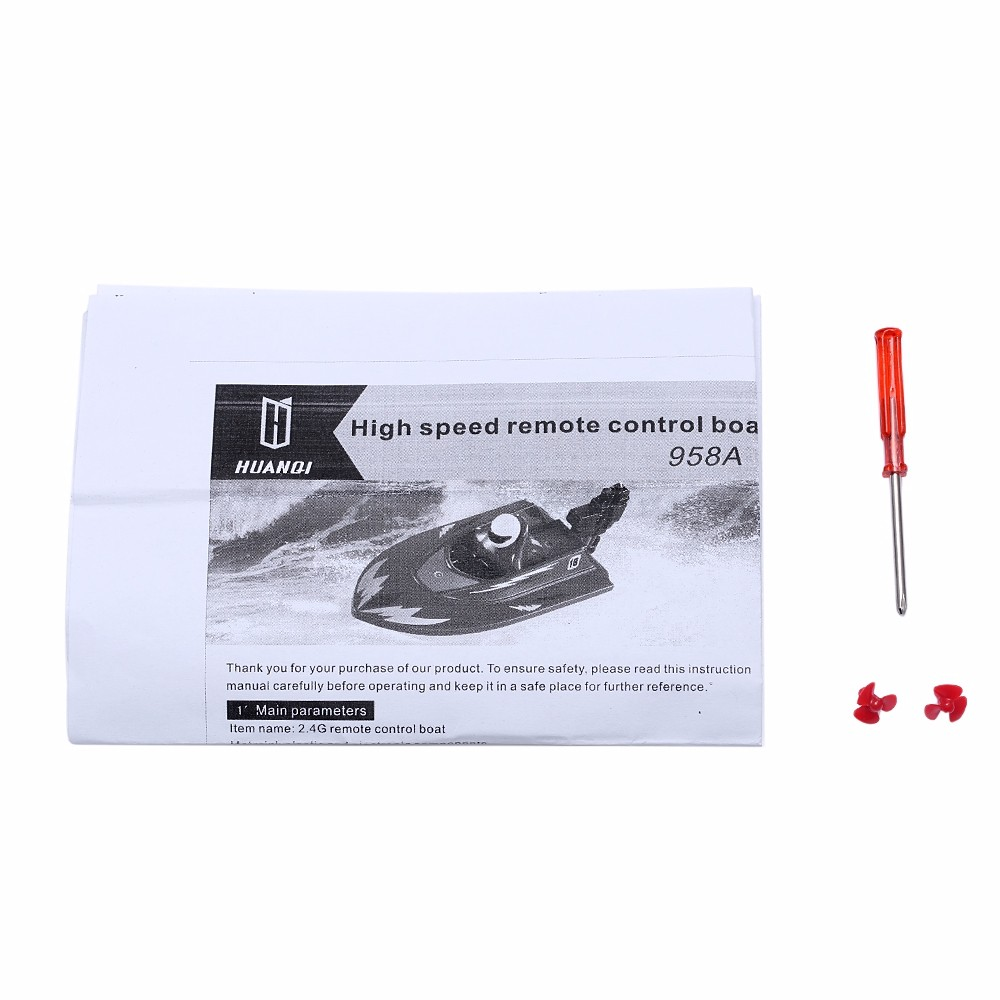 RC Boat Outdoor Children Toys Radio Control RC 2 Channels Waterproof Mini Electric Boats (9)