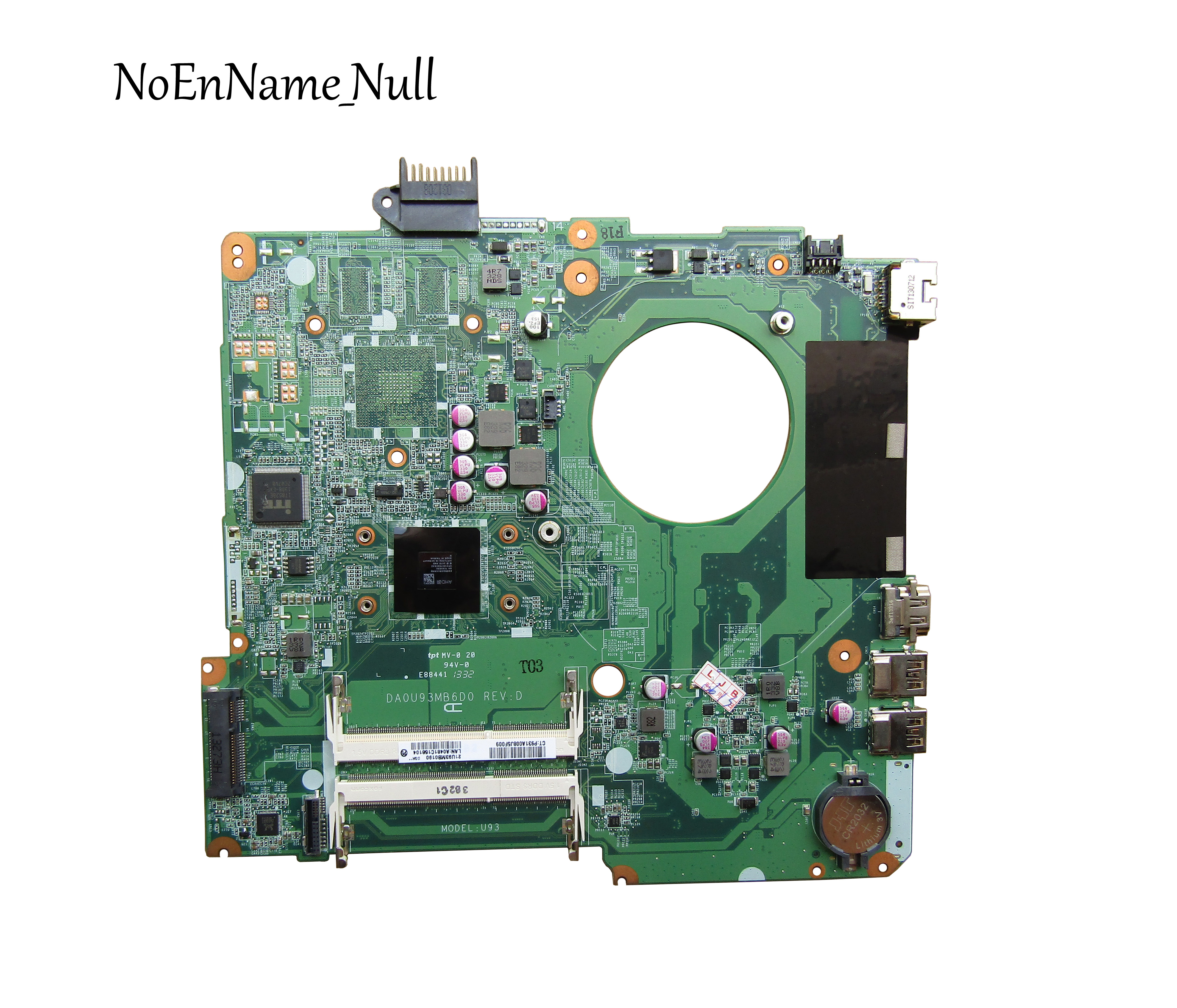 Free Shipping 737141-001 737141-501 737141-601 For HP 15-N Series Laptop Motherboard E1-2500 CPU DA0U93MB6D0 100% Test Ok