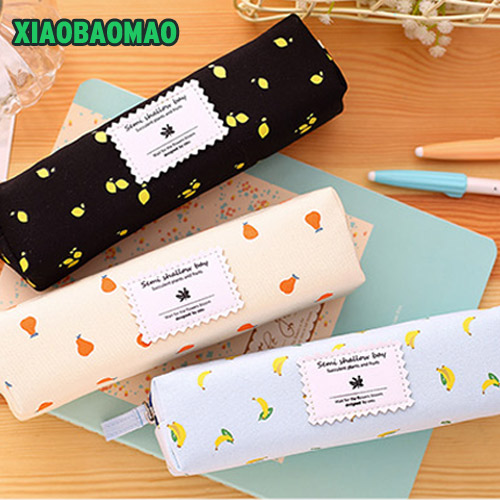 3 color Cute School Pencil Case For Girls Large Capacity Canvas Pencil Bags Multifunction Pencase Storage Manager Stationery цена 2017