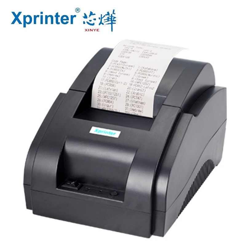 Xprinter 58mm Bluetooth Thermal Ticket Printer Mini USB +